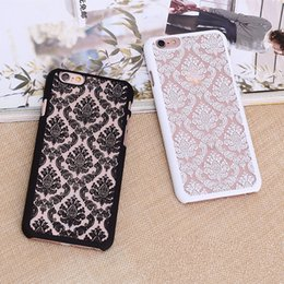 Wholesale Translucent Plastic Iphone Case - Fashion Flower cell phone Case Cover for iphone7 7plus 6 6S plus Samsung S7 edge S6 edge Note5 4 S5 S4 G530 Translucent Hard Plastic Cases