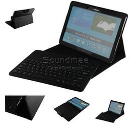 Wholesale Galaxy Note Tab Keyboard - Samsung Galaxy Tab 12.2 inch Bluetooth Removable Kickstand Keyboard Case For Samsung Galaxy Note Tab Pro 12.2 Inch With Retail Box