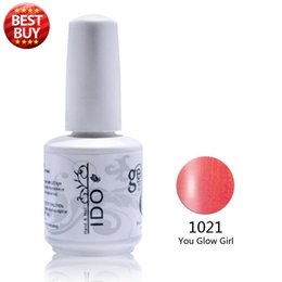 Wholesale Uv Gel Nail Polish Ido - Wholesale- 2016 Sale Real Uv Gel Nail Polish 10pcs Free Shipping Uv Primer Nail Art Decorations (8colors+1top+1base) Ido Brand Gel Polish