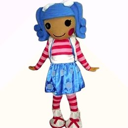 Wholesale Lalaloopsy Costumes Adults - Best lalaloopsy girl Mascot Costumes Cartoon Character Adult Sz 100% Real Picture