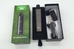 Wholesale Hot Air Drying - HOT VAX AIR dry herb vaporizer herbal vape pen kit Portable 3000mAh Battery WAX mini Airzer elite Vapor Mod Kits Designed from PAX
