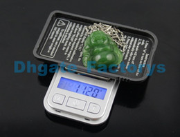 Wholesale Dhl X Mini - 50pcs by DHL FEDEX 200g x 0.01g smallest LCD display electronic jewelry pocket balance weigh mini gram weighting scale DHFTY-091