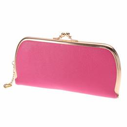 Wholesale Wholesale Clutch Purse Frames - Wholesale-Fashion Women Leather Clutch Wallets Portefeuille Femme Lady Clutch Bag Long Style Female Coin Purse Carteira Feminina Party Bag