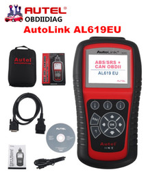 Wholesale Toyota Abs Scan Tool - Autel AutoLink AL619 OBDII CAN ABS And SRS Scan Tool Autel AL619 Diagnostic Tool