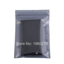 Wholesale Moisture Barrier Bags - 13x18cm (5x7in) 100x Translucent barrier packaging bags Moisture proof Antistatic Bags zipper for Electronic accessories
