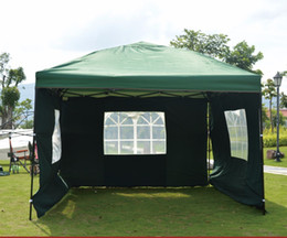 Wholesale Mm Photography - Wholesale- Pastoral Life Outdoor wedding photography awning European folding waterproof tent 3x3m with three walls and windows gazebo tent