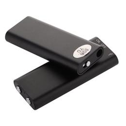 2019 disco flash del lettore mp3 Commercio all'ingrosso - 3 in 1 Mini penna dictaphone USB 8 GB Disco Flash Drive Registratore vocale digitale audio Mp3 Music Player 15 ore di registrazione disco flash del lettore mp3 economici