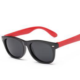 Wholesale Eyeglass Kids - Kids Children Sunglasses Fashion Polarized UV400 Brand Designer Boy Girls Glass Frame Light Weight Full Rim Cartoon Cute Eyeglass 5166