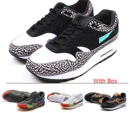 Wholesale Max Size - Wholesale Max 87 Atmos Max 1 Max Day Premium lunar 1 DELUXE Best Quality Men Women Size Running Shoes free shipping with Box
