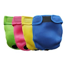 Wholesale Dog Menstrual Pants - Pet Dog Underwear Physiological Menstrual Washable Cotton Diapers Pet Wrap Band Nursing Durable Puppy Trousers Pants