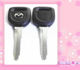 Wholesale Car Remotes For Sale - KL28 Replacement Transponder Car Remote Case Fob Shell Car Key Blank for Mazda high quality factory derect sale