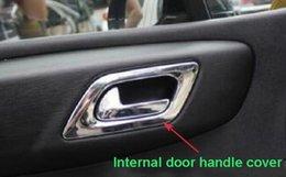 Wholesale Chrome Door Handles Cover - High quality ABS chrome 4pcs internal door handle cover,door handle decoration trim,decoration frame for Citroen C4 2007-2011