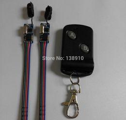 Wholesale 9v Remote Switch - Wholesale- New DC 3.5V 3.7V 4.5V 5V 6V 7.4V 9V 12V Micro Relay Remote Control Switch NO COM NC Button Remote Switch Long Range Momentary