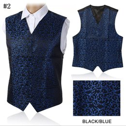 Wholesale New Gilet - Wholesale- 2016 New Arrival Quality Vests For Men Slim Fit Mens Suit Vest Male Waistcoat Gilet Homme Casual Sleeveless Formal Business