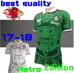 Wholesale Mexico Football Top - Top Quality 1998 MEXICO RETRO VINTAGE BLANCO Retro Edition soccer jerseys Football shirt Embroidery Logo camiseta futbol free shipping