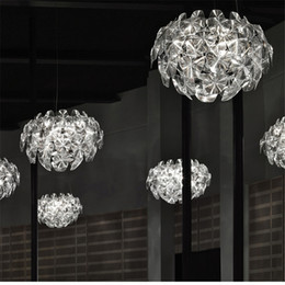 Wholesale Suspension Ceiling Light - Modern Luceplan Chandeliers Milan Francisco Gomez Paz Hope Suspension Pendant light colorful Pendant Lamps Ceiling Light industrial lights
