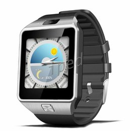 Wholesale Cheapest Dual Camera Phones - QW09 Smart Watch Android Wifi 3G Smart Wacht Bluetooth Wristwatch MTK6572 Dual Core 512MB 4GB Pedometer Smartwatch Phone DZ09 Cheapest 30pcs