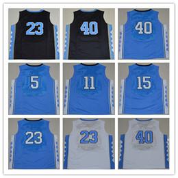 Wholesale Berry Men - NWT 2017 North Carolina Basketball Jerseys 11 Brice Johnson 15 Vince Carter 40 Harrison Barnes 5 Marcus Paige 2 Joel Berry II With Name