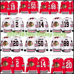 Wholesale Green Patrick - 2017-18 New Chicago Blackhawks Jersey Hockey 2 Duncan Keith 19 Jonathan Toews 50 Corey Crawford 88 Patrick Kane 20 Brandon Saad 14 Panik
