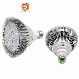E27 E26 PAR38 9 W LED Ampul Işıkları 9 LED ışıkları PAR 38 Soğuk Sıcak Beyaz Işık Spot Lamba Ampul nereden