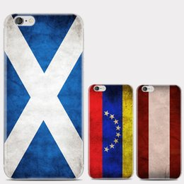 Wholesale Country Flags Iphone Cases - hot sale cell phone case ultra thin country flag printing tpu cover case for iphone 6 6s plus