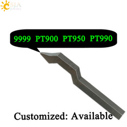 punching ring Coupons - CSJA Customize 9999 PT900 PT950 PT990 Punching Stamp Metal Imported Steel Tool Gold Silver Platinum Ring Bracelet Jewelry Buckle Mold E185