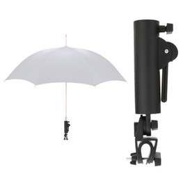 Wholesale Umbrellas Black - Wholesale- Black Golf Cart Umbrella Holder Golf Club Push Pull Cart Car Trolley Umbrella Holder PP Plastics Umbrella Stands