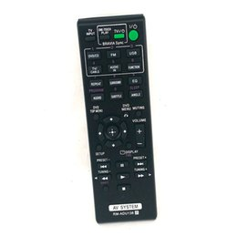 Wholesale Rm Video Player - Wholesale- suitable for Sony DAV-TZ140 HBD-TZ140 RM-ADU138 Audio Video Receiver Remote Control