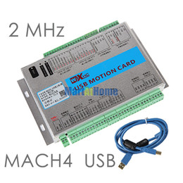 Wholesale Cnc Control Boards - USB 2MHz Mach4 CNC 3 Axis Motion Control Card Breakout Board MK3-M4 for Machine Centre, CNC Engraving Machine #SM780 @SD