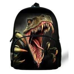 Wholesale Backpack For Preschool - 12-Inch Hot Preschool Animal Backpacks Dinosaur Bag For Children Boys Girls Tyrannosaurus Bag For Kids Kindergarten Bag