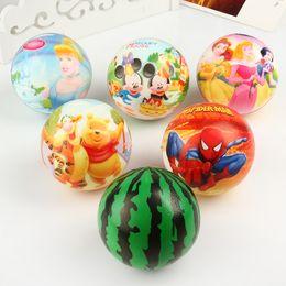 Wholesale Sponge Rubber Balls - Exquisite cartoon pattern printing, Pu ball, high quality sponge, pressure ball, children's toy, decompression foam ball toy