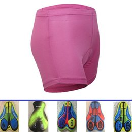 Wholesale Cycling Padded Underwear For Women - Pink Black Cycling Underwear With 3D 5D 9D 19D Name SAT Difeerent Pad Professional Comfortable Bicycle Under Shorts Size S-3XL For Men Women