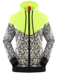 Wholesale New Hooded Women - free shipping 2017 Spring Autumn new Women's sports jacket hooded jacket Women Fashion Thin Windbreaker Zipper Coats