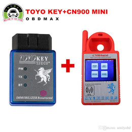 Wholesale Nissan G - Original Mini CN900 Transponder Key Programmer Plus TOYO Key OBD II Key Pro for 4C 46 4D 48 G H Chips