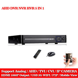 Câmera onvif dvr on-line-LLNIVISION 1080 P 2mp CCTV Câmera 1080N 8 Canais 8CH Gravador de Vídeo de Vigilância Híbrido 5 em 1 WIFI NVR Onvif TVI CVI AHD DVR