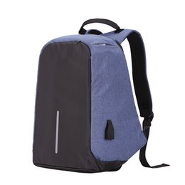 Wholesale Football Function - In stock New leisure backpack anti-theft sports backpack bag multi-function charging contracted students travel camera bag