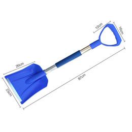 Wholesale Winter Car Shovel - snow car shovel Home Emergency Shovel With Grip Winter Car Vehicle Snow Ice Scraper Shovel