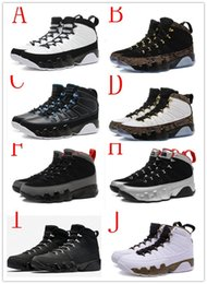 Wholesale Baron Plush - wholesale air Retro 9 Man Basketball Shoes black white gold doernbecher cool grey Barons Anthracite Spirit 2010 release sport sneaker