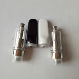 Wholesale Pens Core - CRE-C Ceramic Vaporizer pen cartridges 0.5ml CELL 510 ceramic Mouthpiece thick Oil Atomizer ceramic core Vape Tanks