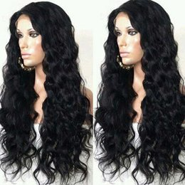 Wholesale Curly Deep Hairstyles - 300% Heave Density Brazilian Human Hair Deep Curly Wigs Human Hair Lace Front Wigs 100% Unprocessed Full Lace Wig Bleached Knots