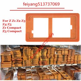 Wholesale Lcd Screen Separator - Refurbishment LCD Touch Screen Separator Outer Glass Mould Molds for Sony Xperia Z Z1 Z2 Z3 Z4 Z5 Z1 Compact Z3 Compact