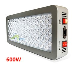 Wholesale Advance Flower - DHL Advanced Platinum Series P300 600w 12-band LED Grow Light AC 85-285V Double leds - DUAL VEG FLOWER FULL SPECTRUM Led lamp lighting 333