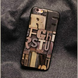 Wholesale Wholesale Phone Caes - Creative TPU Soft Back Coverl Phone Caes 5.5 Inch Wood Embossed Painted New Protective Cover