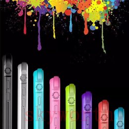 Wholesale Colorful Waterproof Iphone Covers - Waterproof Case For Iphone 5 SE 5S 6S 6 Plus Candy OL Colorful Water Snow Dust Proof Full Cover