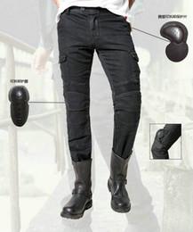 2017 Hotsale uglyBROS MOTORPOOL UBS06 jeans di svago dei jeans da moto pantaloni dell'esercito locomotiva pantaloni jeans del motociclo del motore di guida da ginocchiere in nylon fornitori