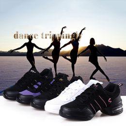 Wholesale Dance Teacher Shoes - Breathable Modern Dance Shoes Teachers Latin Salsa Jazz Women Fitness Dancing Sneakers Ladies Aerobics Shoes Size 35-42 2501086