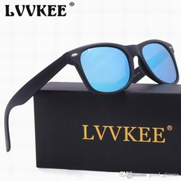 Wholesale Glasses Mix Color - Fashion Cool Sunglasses Men Women 52mm Brand Designer Cat Eye Sun Glasses Eyeglasses Frames Mirrored Dark Matte Black with cases Cheap Sale