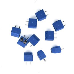Wholesale Electrical Plug 2pin Connector - 100 piece lot Terminal Screw XK301-5.0MM 300V 15A KF301-2Pin Block Connectors can splice