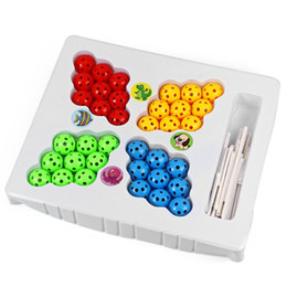 Wholesale Insert Bead Toy - Magic Chageable 36 Beads Ball and Inserted Sticks DIY 3D Puzzle Set Toy Educational Interesting Game for Boys Girls