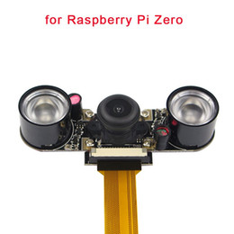 Canada Caméra vision nocturne Raspberry Pi Zero grand angle Fisheye 5 MP 1080P + 2 infrarouge IR LED pour Raspberry Pi Zero W Offre
